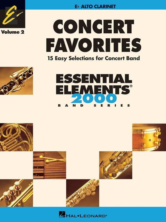 Concert Favorites Vol. 2 - 15 Easy Selections for Concert Band