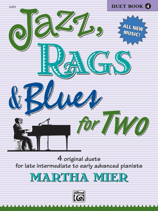 Jazz Rags & Blues for Two Book 4 (1P4H)