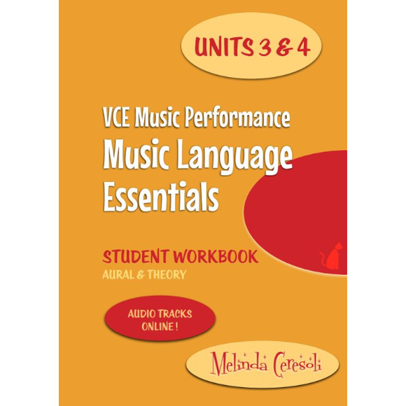 VCE Music Language Essentials - Student Workbook: Units 3 & 4