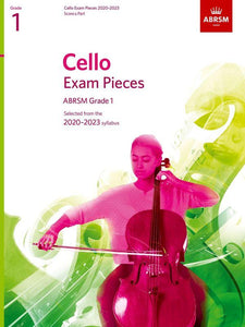 ABRSM Cello 2020-23 Grade 1 Cello/Piano