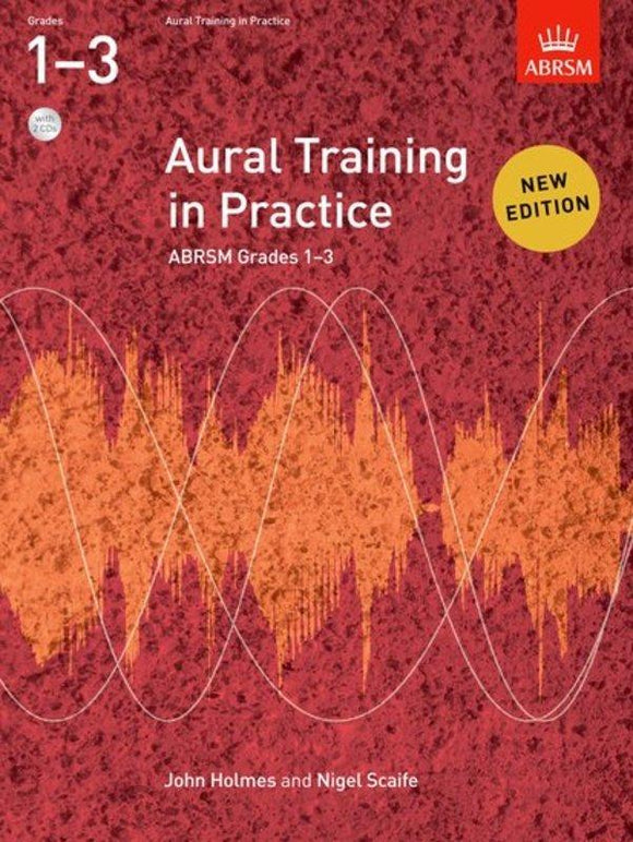 ABRSM Aural Training In Practice Grade 1-3 Book/CD