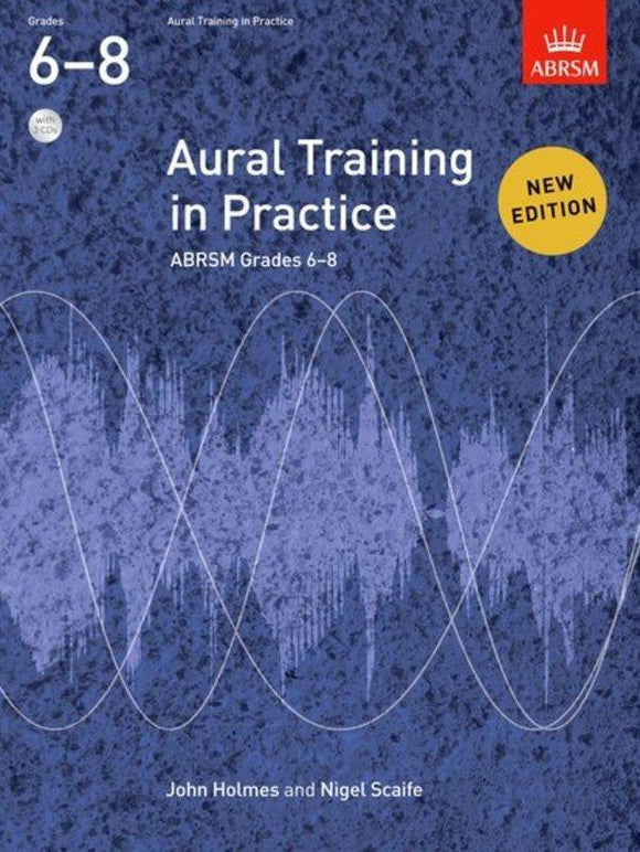 ABRSM Aural Training In Practice Grade 6-8 Book/CD