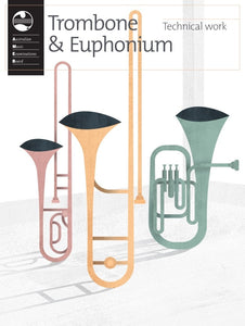 AMEB Trombone & Euphonium Technical Work & Orchestral Excerpts 2020 - Pre-Order