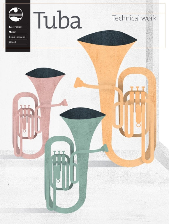 AMEB Tuba Technical Work 2020 - Pre-Order