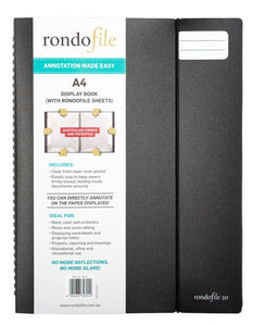 Rondofile 20 Display Book (20 sheets)