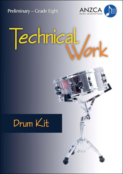 ANZCA Technical Work - Drum Kit