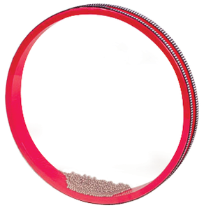 "10"" Ocean Drum, Non-Tunable, Red"