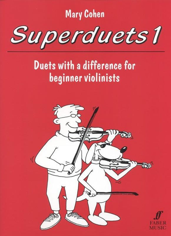 Superduets Book 1 for Violin