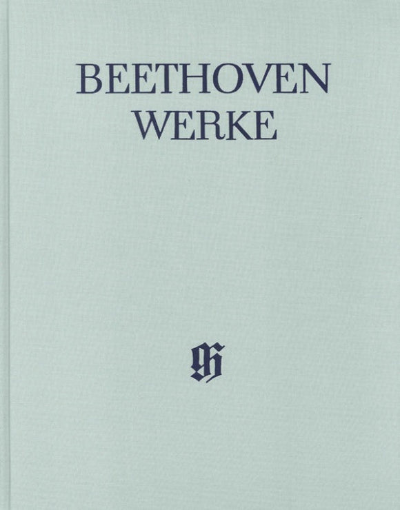 Beethoven: Songs with Piano Accompaniment Cloth Bound