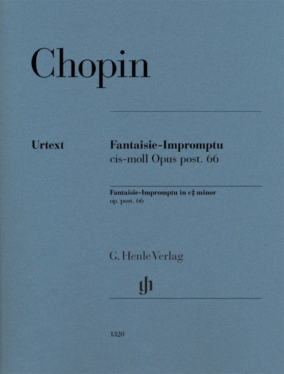 Chopin: Fantasie-Impromptu in C-sharp Minor Op Post 66 Piano