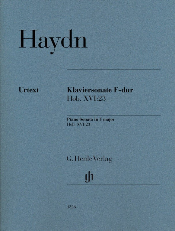 Haydn: Piano Sonata in F Major Hob XVI:23