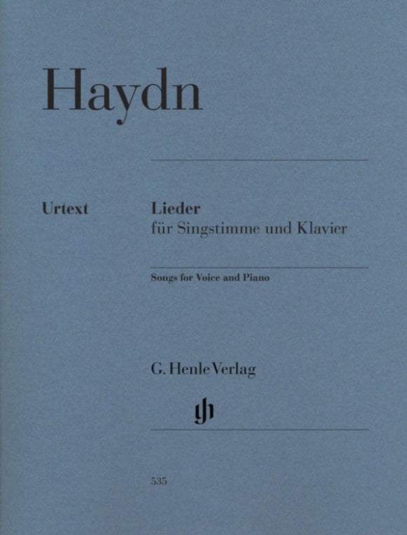Haydn: Songs for Voice & Piano