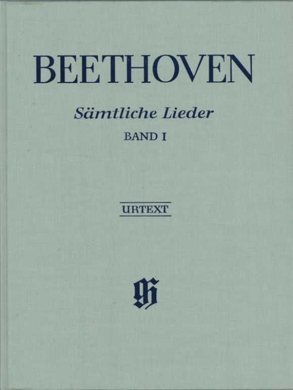 Beethoven: Complete Songs for Voice & Piano Volume 1 Bound
