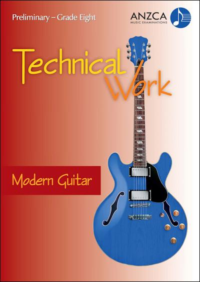 ANZCA Technical Work - Modern Guitar