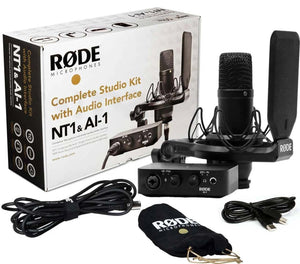 Rode AI-1 Complete Studio Kit