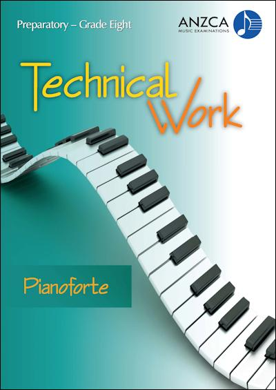 ANZCA Technical Work - Pianoforte