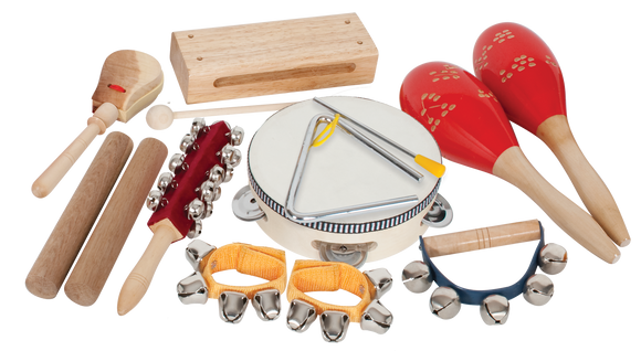Mano 9-Piece Percussion Set with Bag