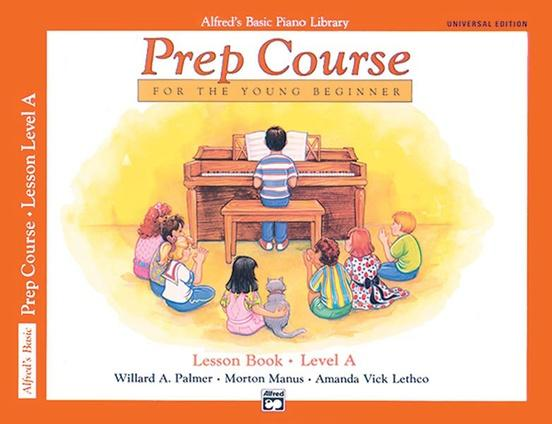 Alfred's Basic Piano Prep Course: Lesson Level A