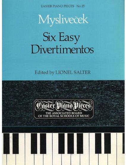 Myslivecek: Six Easy Divertimentos