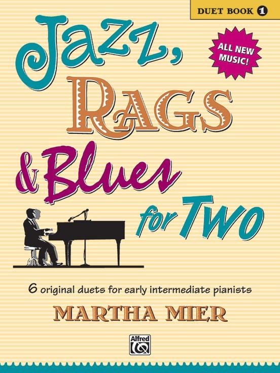 Jazz Rags & Blues for Two Book 1 (1P4H)