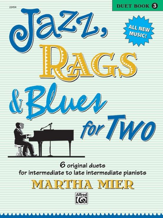 Jazz Rags & Blues for Two Book 3 (1P4H)