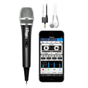 iRig Mic - Handheld Mic for iOS & Android