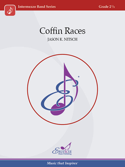 Coffin Races - arr. Jason K. Nitsch (Grade 2.5)