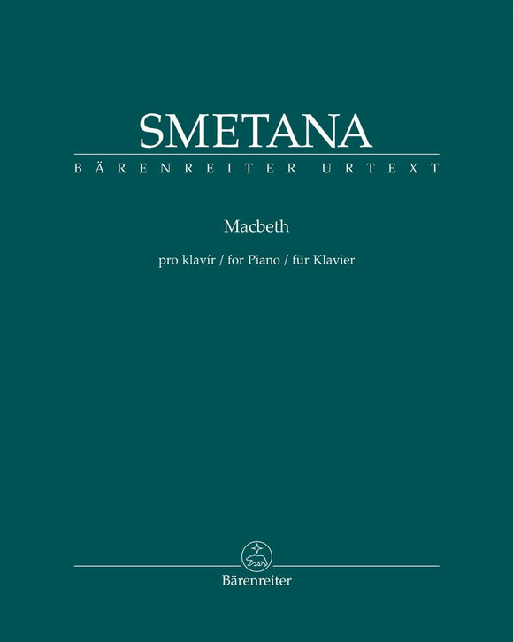 Smetana: Macbeth & the Witches for Piano Solo