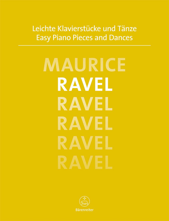 Ravel : Easy Piano Pieces & Dances for Solo Piano