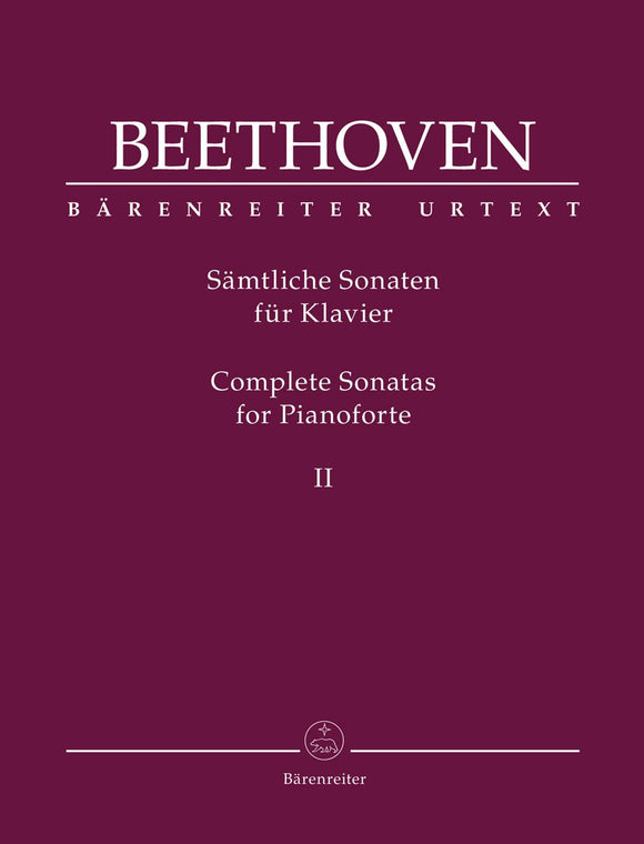 Beethoven: Complete Sonatas for Piano - Volume II