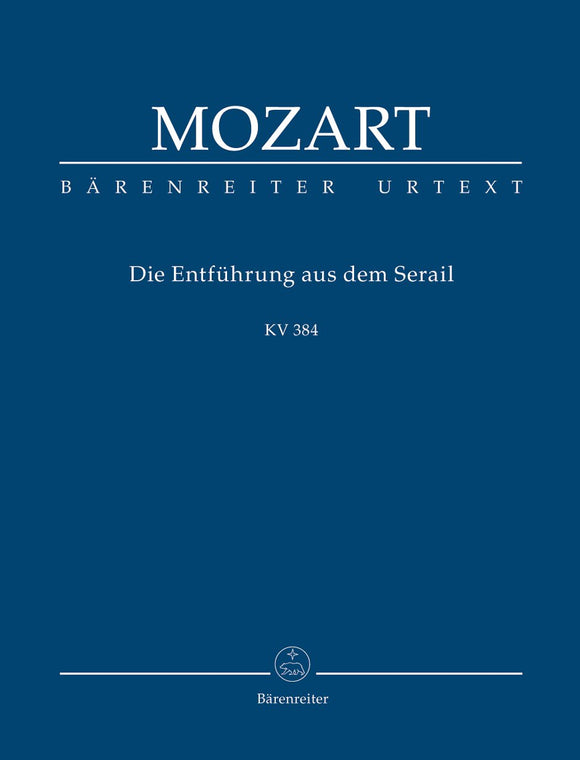 Mozart: Abduction from the Seraglio Opera - Study Score