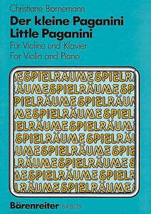 Bornemann: Little Paganini for Violin & Piano