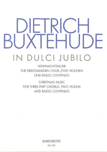 Buxtehude: In Dulci Jubilo - Vocal Score