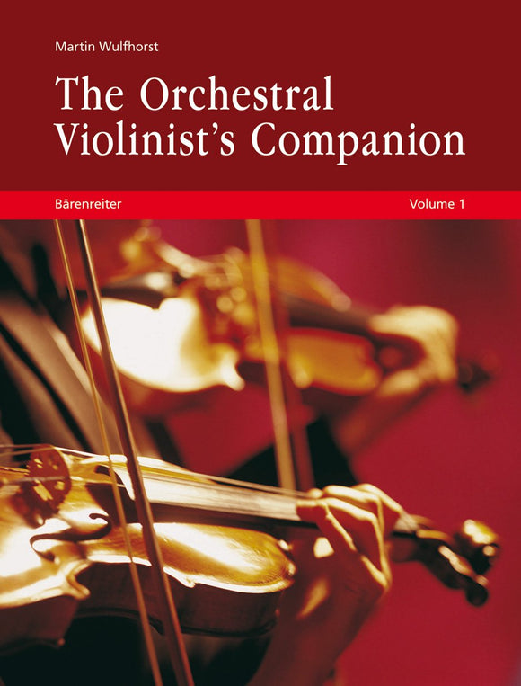 Wulfhorst: The Orchestral Violinists Companion Vols 1 & 2