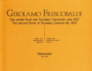 Frescobaldi : Complete Organ & Keyboard Works - Vol 4
