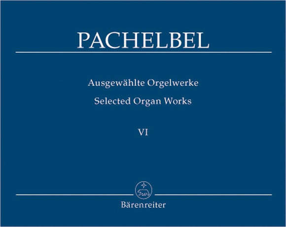 Pachelbel: Selected Organ Works - Book 6