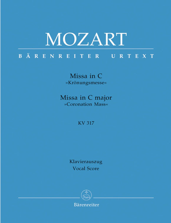 Mozart: Mass C K317 Coronation - Vocal Score