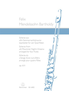 "Mendelssohn: Scherzo from ""A Midsummer Nights Dream"" for Flute"