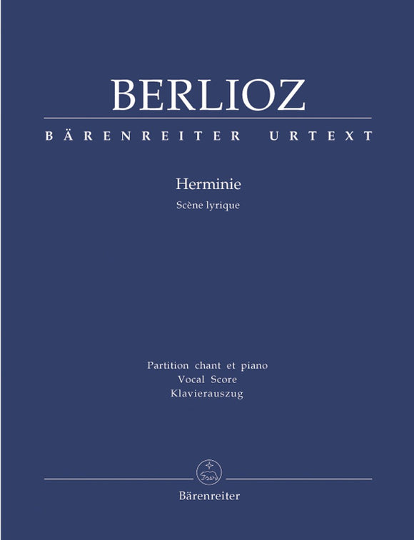 Berlioz: Herminie Scoreene Lyrique - Vocal Score