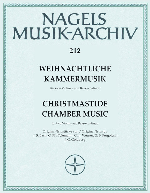 Christmas Chamber Music arr. Strauch