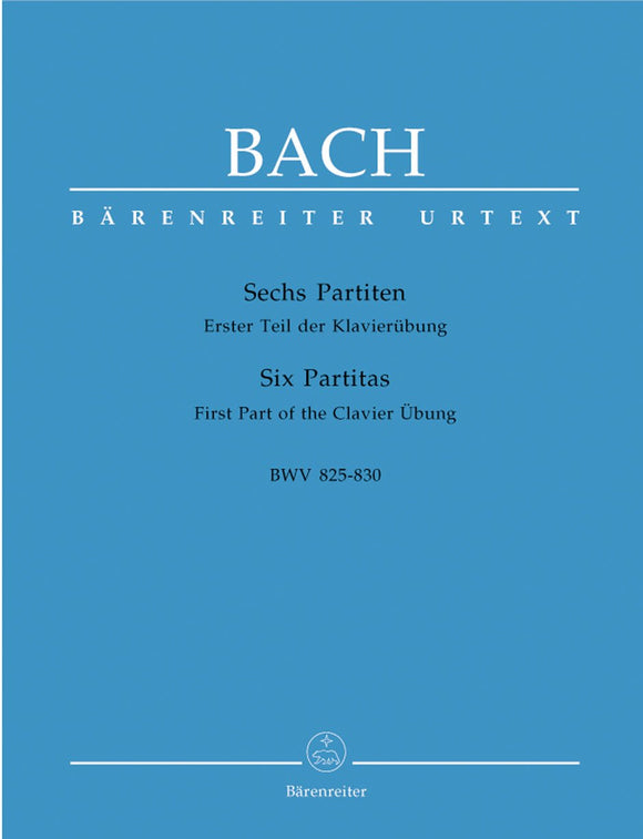 Bach: Six Partitas for Piano Solo