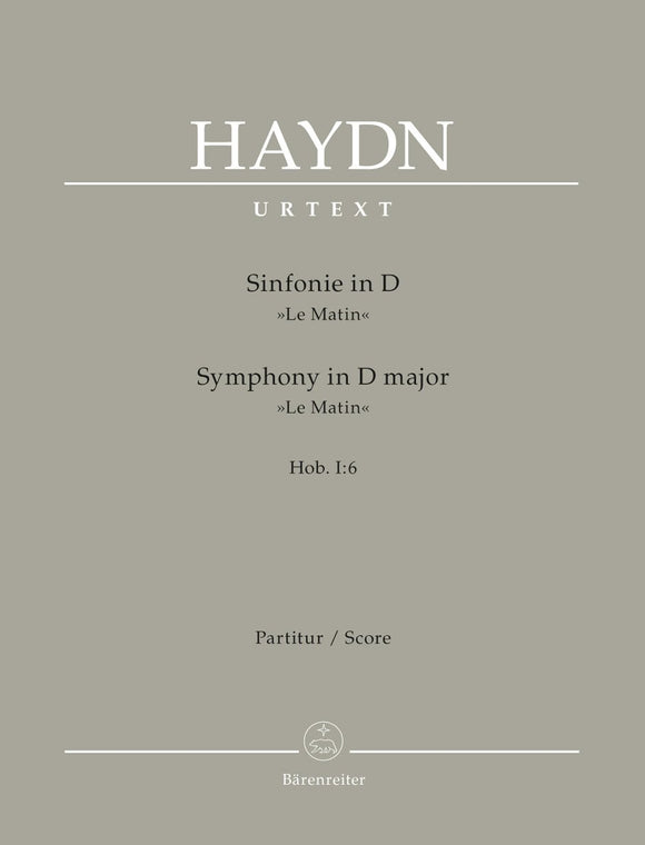 Haydn: Symphony No 6 in D Le Matin Full Score