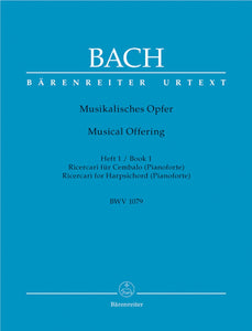 Bach: Ricercari Musical Offering
