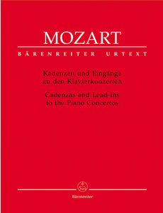 Mozart: Cadenzas & Lead-ins to the Piano Concertos