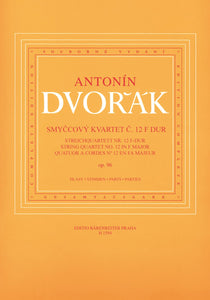 Dvořák: String Quartet No 12 Op 96 in F - Set of parts