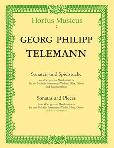 Telemann: Sonatas & Pieces for Oboe & Piano