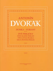 Dvořák: Two Little Pearls - Dumka & Furiant Op 12 Piano