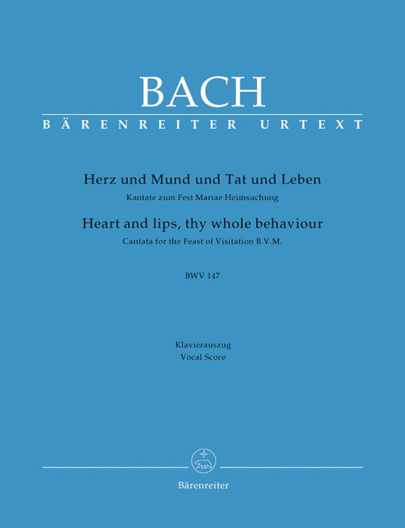 Bach: Cantata 147 - Vocal Score