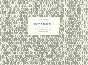 Bresgen: Prague Sonatina No 2 in C for Descant Recorder & Piano