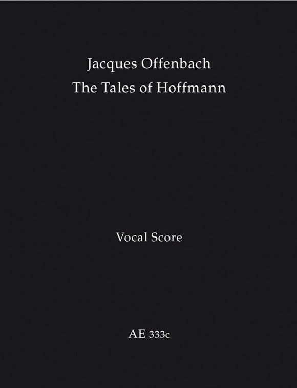 Offenbach: Tales of Hoffman - Vocal Score - French, English